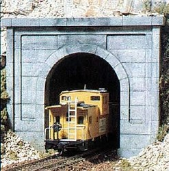 N Concrete Single Tunnel Portal (x2)