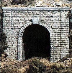 N Cut Stone Single Tunnel Portal (x2)