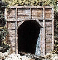 N Timber Single Tunnel Portal (x2)