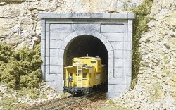 HO Scale Tunnel Port Concret Single (x1)
