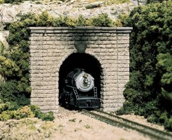 HO Scale Tunnel Port Cut Stn Single (x1)