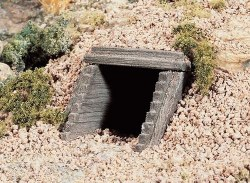 HO Scale Culvert Timber (x2)