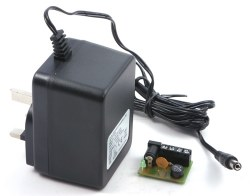 Wall Mounted Transformer 16v AC or 12v DC 1.1amp
