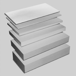 1in. Foam Sheet Pack of Four