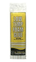 Low Temp Foam Glue Sticks 10Ea