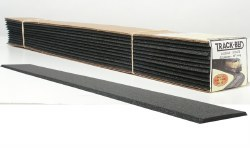 O Scale Trackbed Strips Pack 12