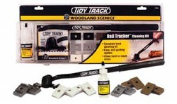 Rail Tracker Cleaning Kit N OO and HO Scale