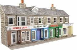 Low Relief Stone Shop Fronts Kit