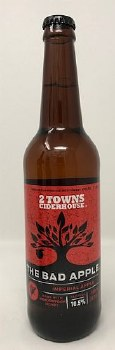 2 Towns Ciderhouse The Bad Apple Cider