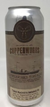 3 Magnets Brewing Co. Copperworks Tompkins Oatmeal Stout Barrel-Aged