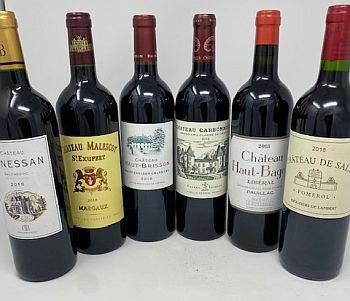 6 pack Bordeaux 2018