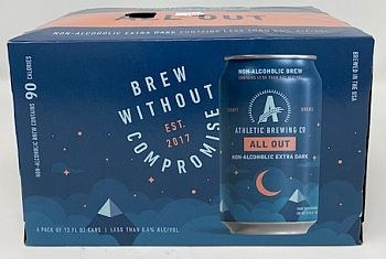 Athletic Brewing All Out  Stout-Non Alcoholic
