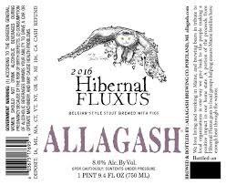 Allagash Brewing Co. Hibernal Fluxus Stout