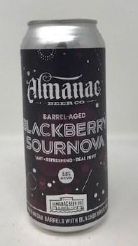 Almanac Beer Co. Blackberry Sournova Sour
