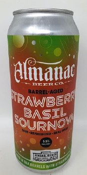 Almanac Beer Co. Strawberry Basil Sournova Sour
