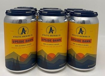 Athletic Brewing Upside Dawn  Golden Ale-Non Alcoholic