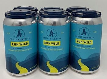 Athletic Brewing Run Wild IPA-Non Alcoholic