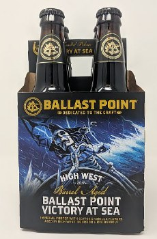 Ballast Point Brewing Co. High West Victory at Sea Barrel Aged