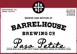 Barrelhouse Brewing Co. Paso Petite Sour