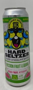 Belching Beaver Brewery Passion Fruit Guava Seltzer