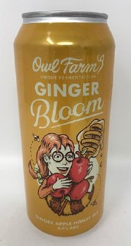 Booze Borthers Brewing Co. Owl Farm Ginger Bloom Sour