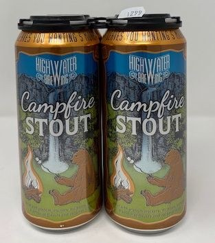 High Water Brewing Campfire Stout