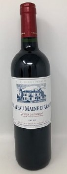 Chateau Maine d'Arman 2016  Bordeaux