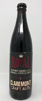 Claremont Craft Ales Royal Imperial Barrel-Aged Oatmeal Stout