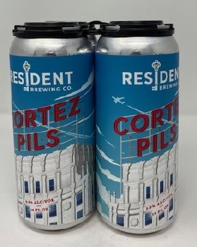Resident Brewing Co. Cotez Pilsner
