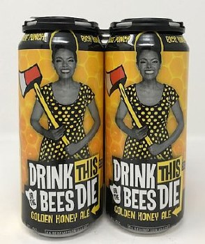 Duck Foot Brewing Co. Drink this or the Bees Die Honey Ale Gluten Reduced