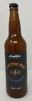 Amplified Ale Works Electric Mud Stay Savage Hazy IPA