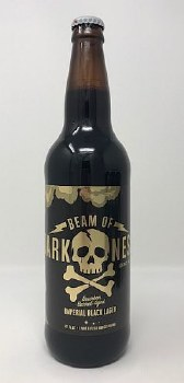 Fall Brewing Co. Beam of Darkness Black Lager Barrel-Aged