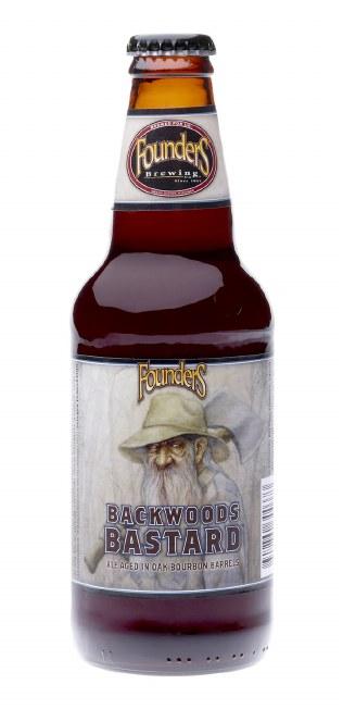 Founders Brewing Co. backwards Bastard Scotch Ale