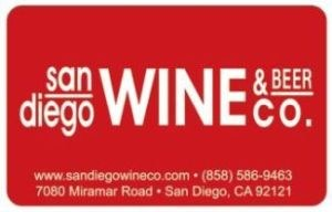San Diego Wine Gift Card