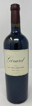 Girard 2017 Old Vine Zinfandel