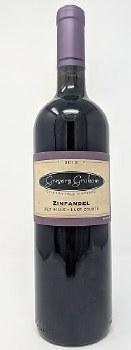 Gregory Graham 2015 Crimson Hill Vineyard Zinfandel