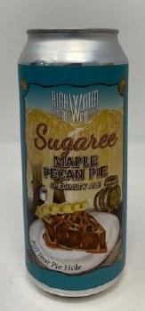 High Water Brewing Sugaree Maple Bourbon Pecan Pie Seasonal