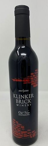Klinker Brick Winery 2017 Zinfandel