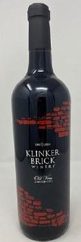 Klinker Brick Winery 2017 Old Vine Zinfandel