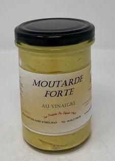 Saint Hilaire D'Ozilhan Moutarde Forte Au Vinaigre Mustard