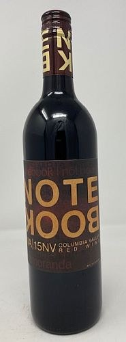 Notebook By J. Bookwalter Non Vintage NV15 Red Blend
