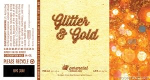 Perennial Artisan Ales Glitter and Gold Bellgian Style