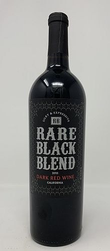 Rare Black Blend 2016 Dark Red Wine Red Blend