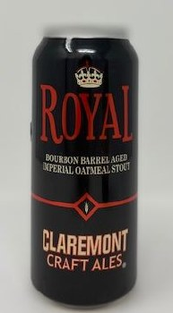 Claremont Craft Ales Royal Barrel-Aged Imperial Oatmeal Stout
