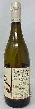Tablas Creek 2020 Patelin de Tablas Blanc White Blend