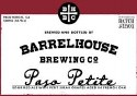 Barrelhouse Brewing Co. Paso Petite Sour