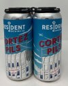 Resident Brewing Co. Cotez Pilsner