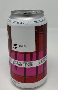 Untitled Art Brewing Chocolate Raspberry, Imperial Stout