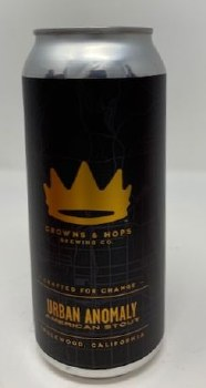 Crowns & Hops Urban Anomaly Stout