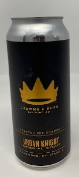 Crowns & Hops Urban Knight Imperial Stout